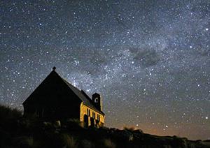 世界最南端マウントジョン天文台でテカポの星空鑑賞ツアー