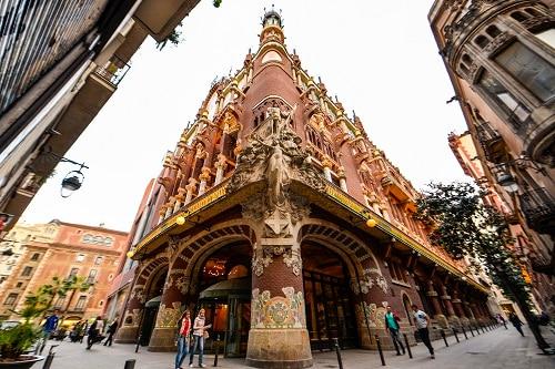 H.I.S.】カタルーニャ音楽堂 入場券 バルセロナ(スペイン) のオプショナルツアー|海外現地ツアー格安予約
