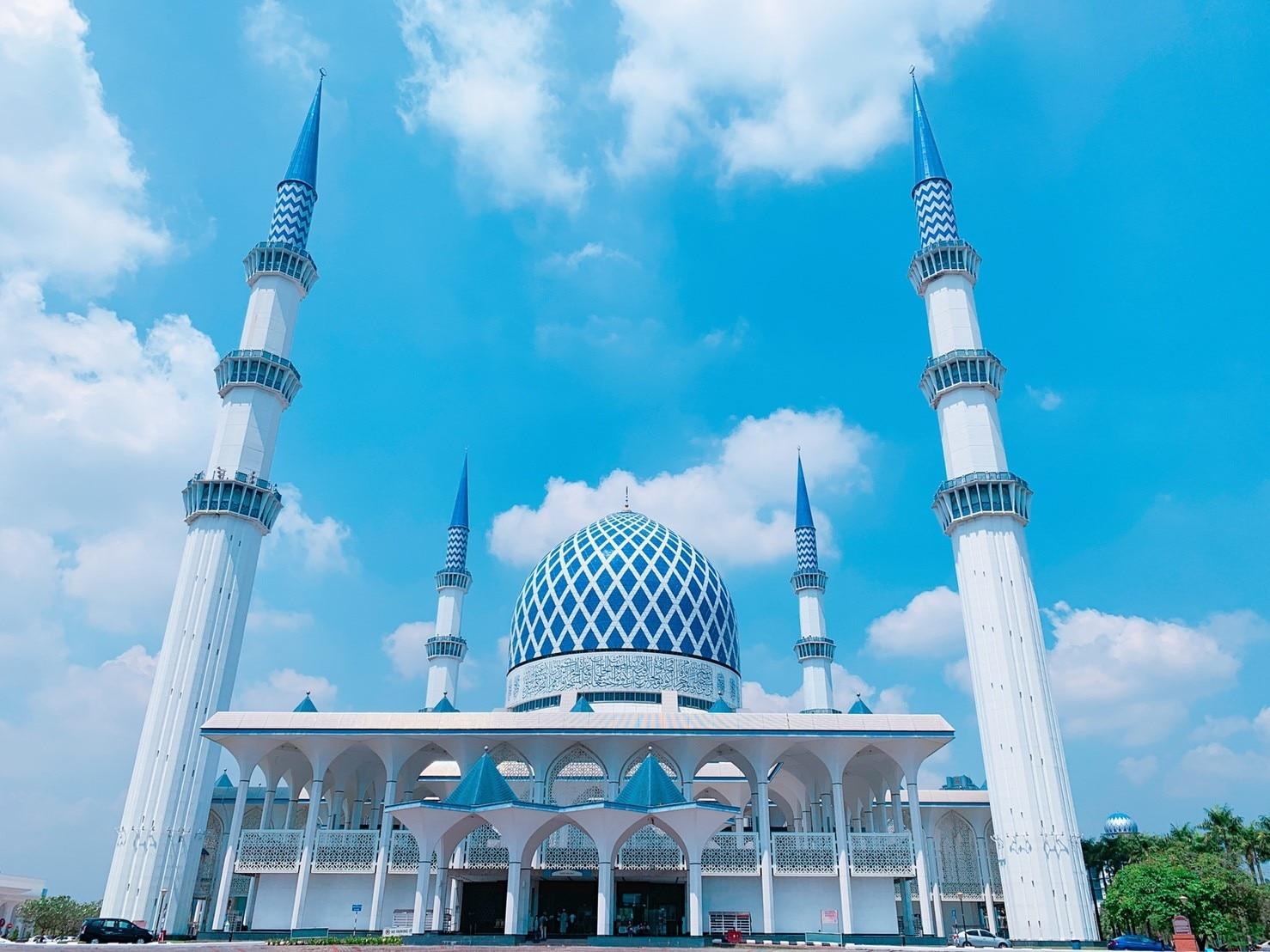 マレーシア特集 ブルーモスク